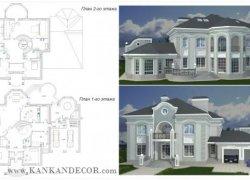 Проекты домов резиденций 1600 м2