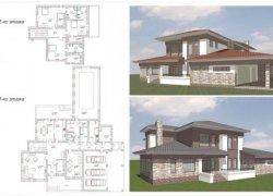Проекты домов резиденций  900 м2